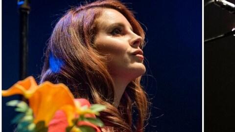 Lana Del Rey et Radiohead en concert.