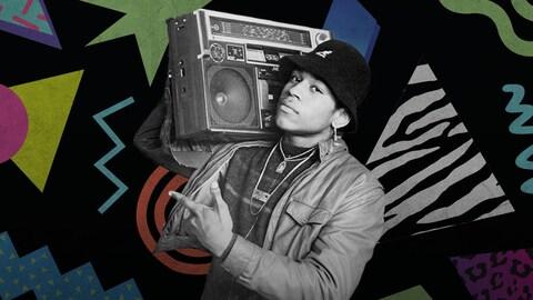 Le Boombox : symbole du hip-hop et de la culture de rue des années 80