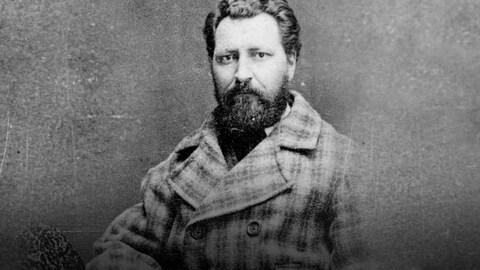 Portrait du chef métis Louis Riel