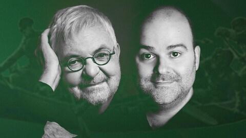 Michel Tremblay et Laurent Paquin présentent le nouveau conte de Noël de l'OSM : le diable en canot d'écorce