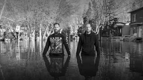 Le duo rock montréalais Oktoplut
