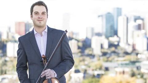 Le violoniste Daniel Gervais
