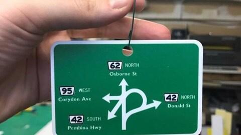 Une photo de l'intersection « Confusion Corner » à Winnipeg