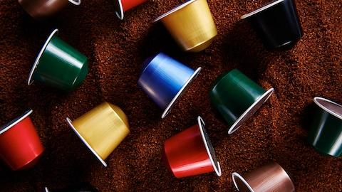 Des capsules de café