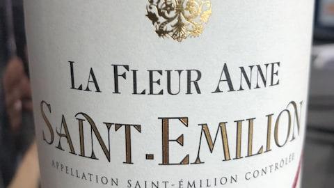 La Fleur Anne 2014 | Code SAQ 00236653 | 19,15$
