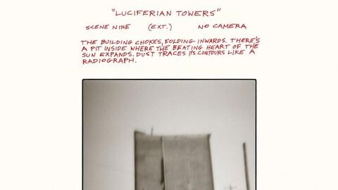 Pochette de l'album Luciferian Towers de Godspeed You! Black Emperor.