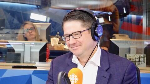 Éric Martel, président-directeur général d'Hydro-Québec
