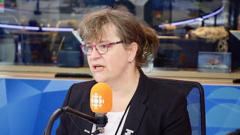 Gabrielle Bouchard, présidente de la Fédération des femmes du Québec
