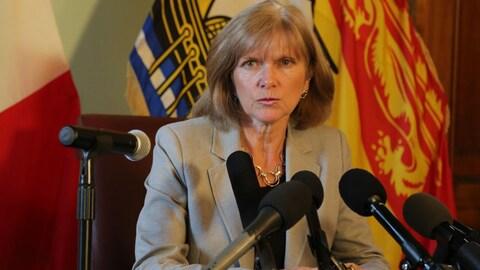 La vérificatrice générale du Nouveau-Brunswick Kim MacPherson
