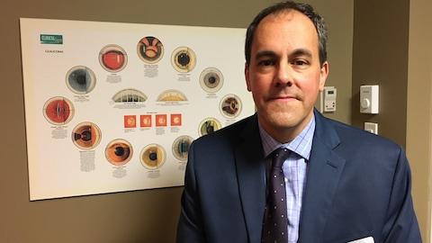 L'optométriste Serge Richard