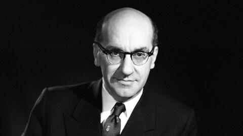 Georges-Émile Lapalme vers 1961.