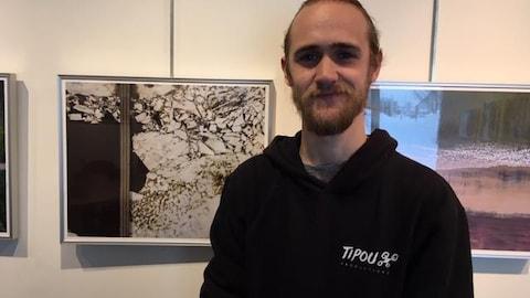 Jean-Phillip Grenier alias Tipou, au Musée Régional de la Côte-Nord