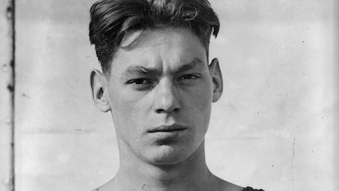 Johnny Weissmuller en avril 1922