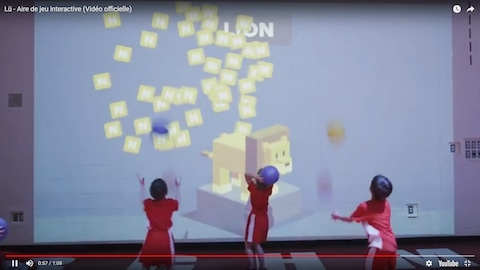 Un aperçu de la vidéo promotionnelle de l'aire interactive LÛ