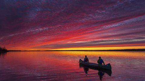 Une photo tirée du livre de Mathieu Dupuis sur le Québec pour National Geographic