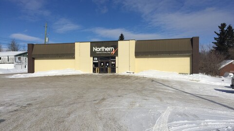 Le magasin Northern à Nakina