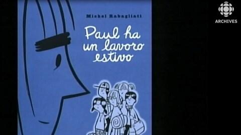 Couverture de la version espagnole de « Paul a un travail d'été ».
