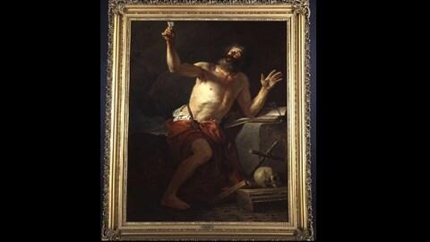 L'oeuvre « Saint Jérôme entendant les trompettes du Jugement Dernier » réalisé par Jacques-Louis David
