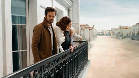 Romain Duris fait partie de la distribution du film  Dans la brume .