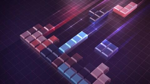 Image évoquant le jeu vidéo Tetris