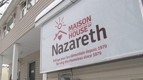 L'enseigne de la Maison Nazareth