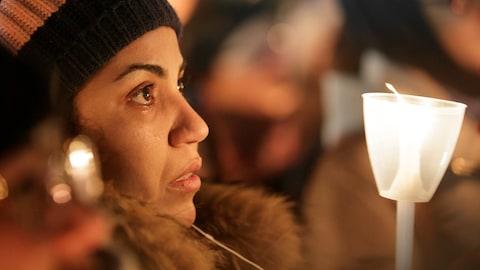 Vigile en support aux victimes de l'attentat de Québec