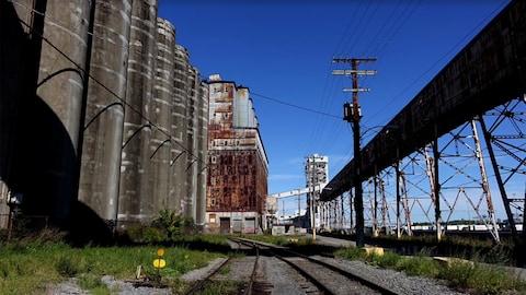 Le silo no 5, à Montréal