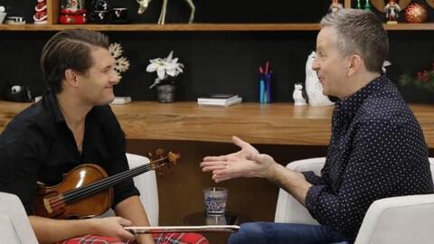 Alexandre Da Costa et André Robitaille