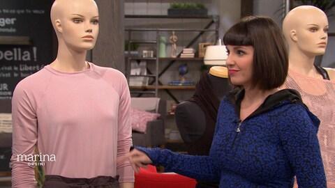 Laurence Bareil, la reine du shopping, vous présente ses conseils pour l'achat de vêtements de yoga.