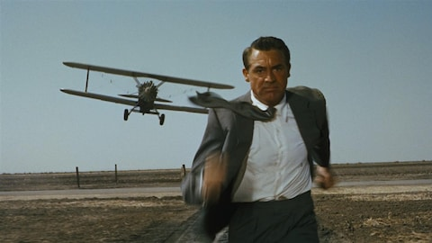Cary Grant poursuivi par un avion