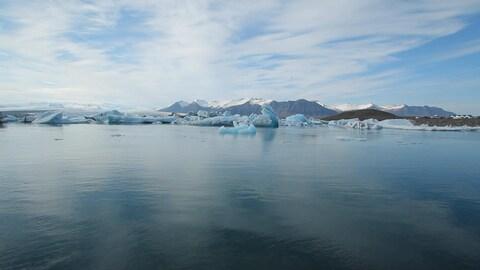 Prélever des traces d'ADN dans l'océan Arctique