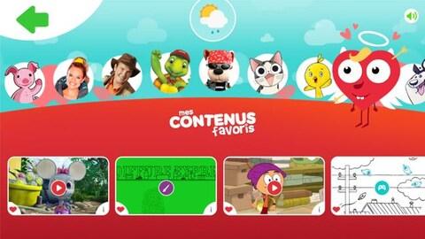 Jeux, dessins animés et ateliers