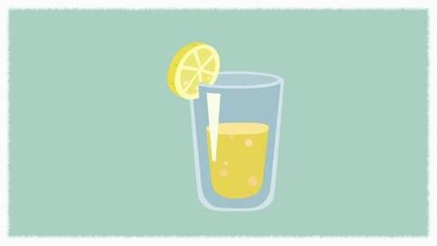Avec du gingembre et du citron
