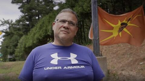 Clifton Ariwakehte Nicolas, militant mohawk.