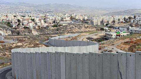 Le mur de la honte d'Israël