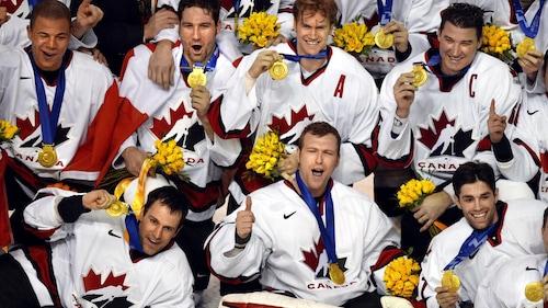 L'équipe canadienne aux Jeux olympiques de Salt Lake City