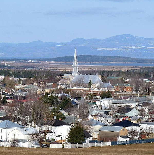 La municipalité de Saint-Pascal en automne.