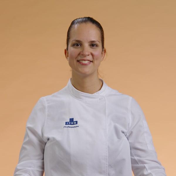 Portrait de la chef Gabrielle Cadieux Le Blanc.