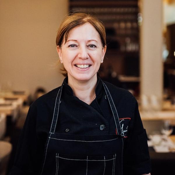 Portrait de la chef Graziella Battista.