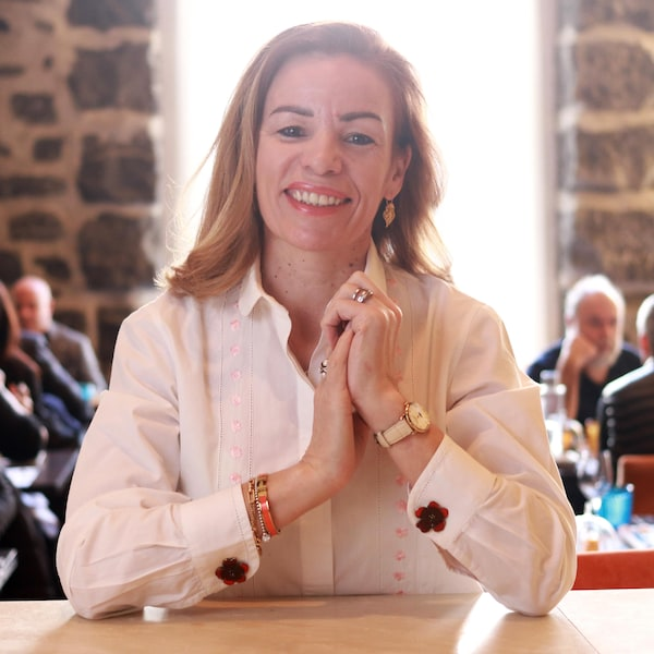 Portrait de la chef Helena Loureiro.