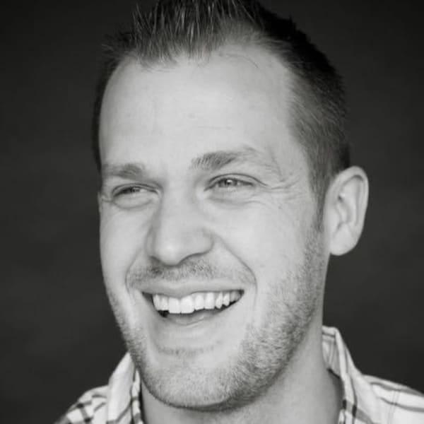 Portrait du chef Mathieu Cloutier.