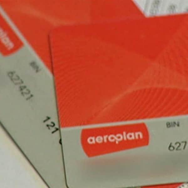 Des cartes du programme de fidélisation Aeroplan