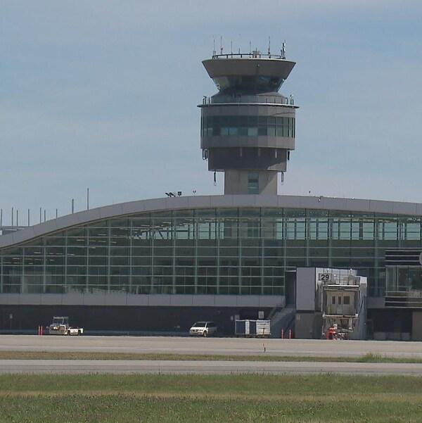 L'Aéroport international Jean-Lesage, à Québec