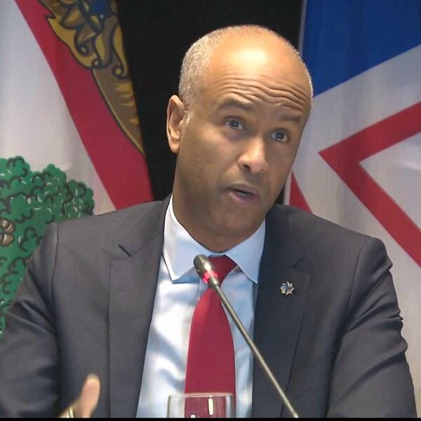 Le ministre fédéral de l'Immigration, Ahmed Hussen, le 20 février 2018 à Moncton.