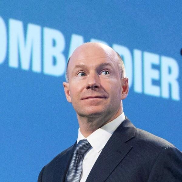 Le président et chef de la direction de Bombardier, Alain Bellemare.