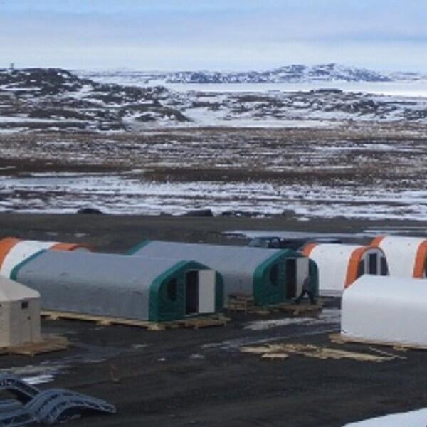 Campement au Nunaviki