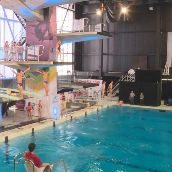 La piscine du Centre sportif de Gatineau