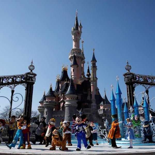 Le chateau de Disney.