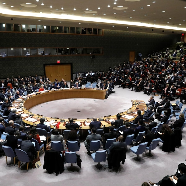 Le Conseil de sécurité des Nations unies s'est réuni au siège de l'ONU à New York, vendredi.
