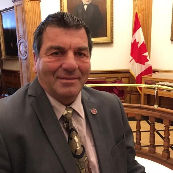 Daniel Guitard, député libéral de Restigouche-Chaleur